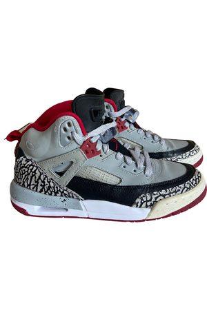 Jordan Air 3 leather trainers