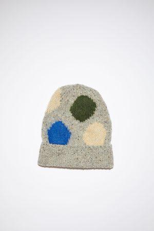 Acne Studios FN-UX-HATS000121 /multi Wool dot beanie hat