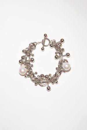 Acne Studios FN-UX-JEWE000223 Pearl bracelet