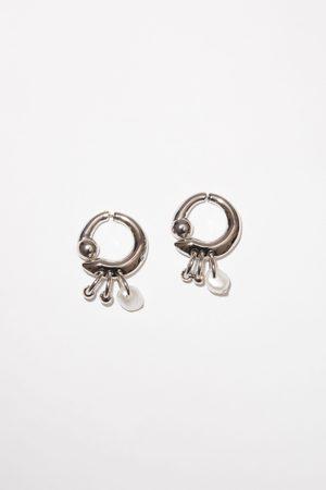 Acne Studios FN-UX-JEWE000228 Pearl earrings