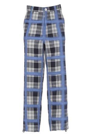 Marni Plaid Straight Leg Pants
