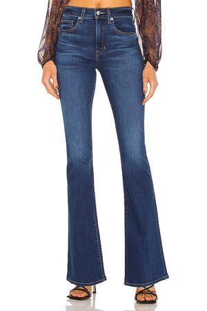 VERONICA BEARD Beverly High Rise Skinny Flare Jean in .