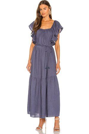 ELLIATT Eloise Maxi Dress in Blue.