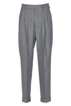 Marni Men Straight Leg Pants - Houndstooth Print Straight Leg Pants