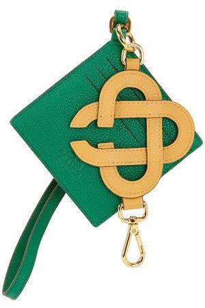 Casablanca Men Wallets - Diamond key & card holder