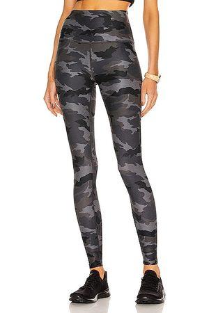 Beyond Yoga Women Leggings - Spacedye Caught in the Midi Printed High Waisted Legging in Charcoal