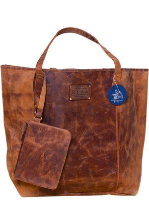 Artisanal Leather Rachel Tote Bag (Crazy Horse) RISA VANCOUVER