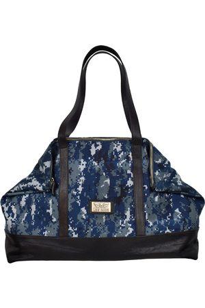 Artisanal Navy Leather Calina Scott Las Alba