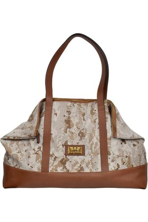 Women Luggage - Artisanal Natural Leather Calina Scott Marine Tan Las Alba