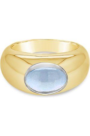 Women Rings - Women's Low-Impact Blue Silk Tish Topaz Gem Bazaar Jewellery