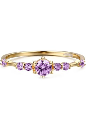 Azura Jewelry The Center Of The Universe Amethyst Ring