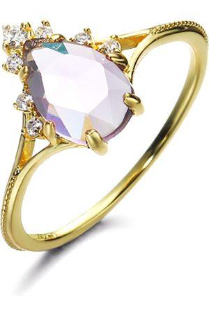 Azura Jewelry Nirvana Amethyst Ring