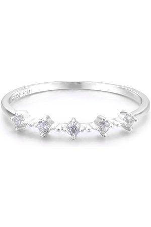 Azura Jewelry Celestial White Gold Ring