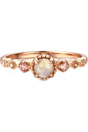 Azura Jewelry Labradorite Tourmaline Ring