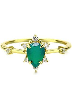 Azura Jewelry Gaia Green Onyx