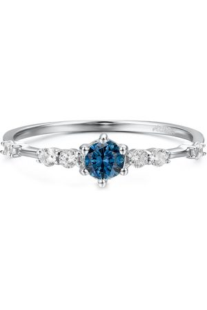 Azura Jewelry Center Of The Universe Blue Topaz Ring