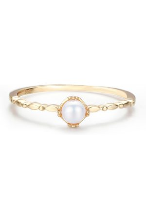 Azura Jewelry Women Rings - Solitaire Pearl Ring