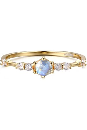 Azura Jewelry Women Rings - The Center Of The Universe Moonstone Ring