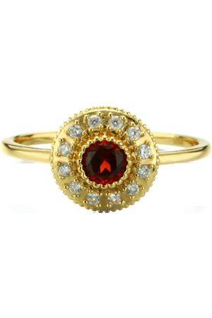 Azura Jewelry Women Rings - Radiance Red Garnet Ring