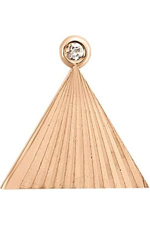 Women Studs - Women's Artisanal Blue Stars On Sky With Diamond Single Stud Earring 07 Batya Kebudi