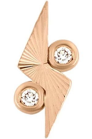 Women Studs - Women's Artisanal Blue Stars On Sky With Diamond Single Stud Earring 16 Batya Kebudi