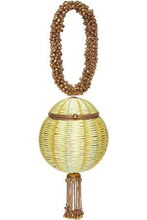 Mae Cassidy Babi Beach Bracelet Clutch Bag In Sunshine Lemon Yellow