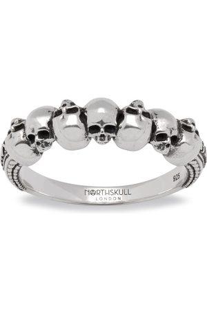 NORTHSKULL Septem Skull Band Ring in