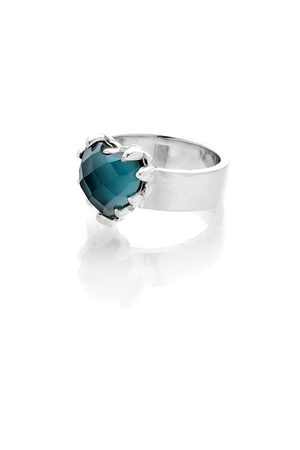Stolen Girlfriends Club Love Claw Ring - Blue