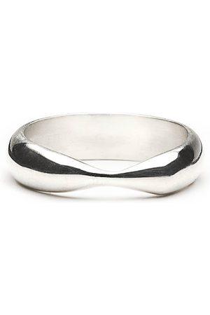 Women Rings - Women's Artisanal Silver Demerging Ring Fruiting Bodies