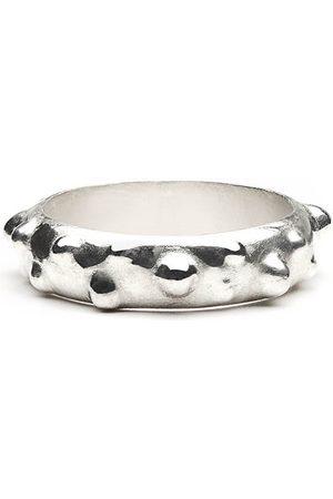 Women Rings - Women's Artisanal Silver Urchin Ring Fruiting Bodies