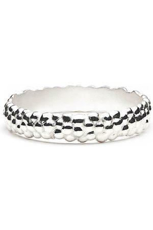 Women Rings - Women's Artisanal Silver Foamy Ring Fruiting Bodies