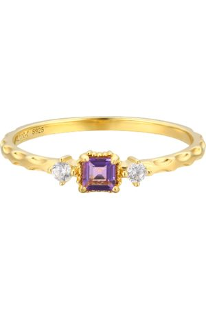 Azura Women Rings - Amethyst Unity Ring
