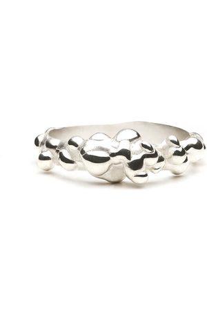 Women Rings - Women's Artisanal Silver Atomy Ring Fruiting Bodies