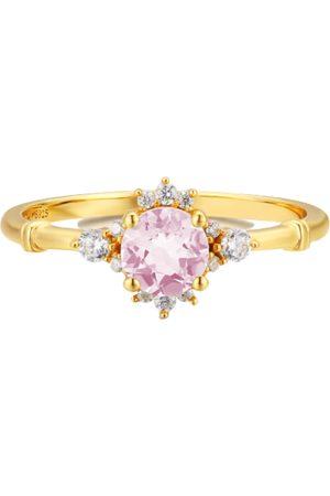 Azura Ocean Rim Morganite Ring