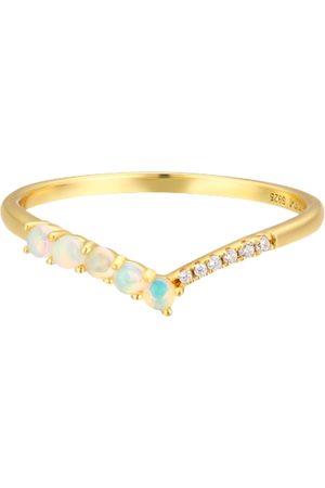 Azura Women Rings - Cross The Path Opal Ring