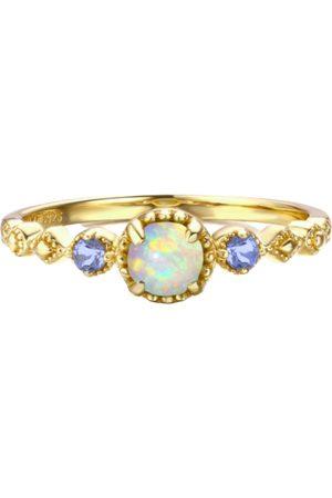 Azura Enchantment Opal Tanzanite Ring