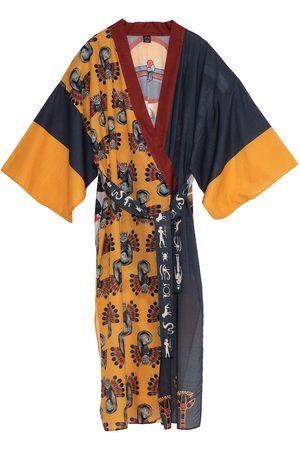 Women's Artisanal Cotton Nile Kimono Matla