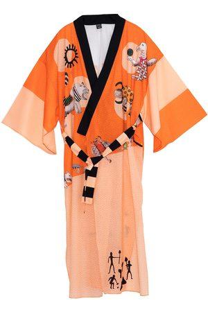 Women Kimonos - Women's Artisanal Cotton Namtila Kimono Matla