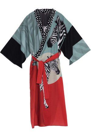 Women Kimonos - Women's Artisanal Cotton Rudo Kimono Matla