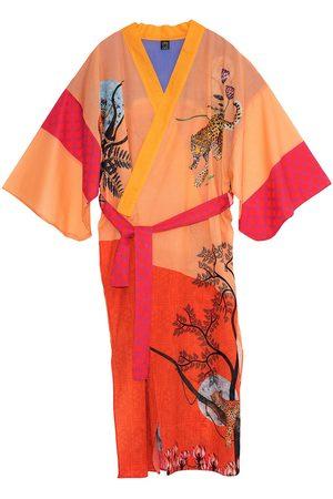 Women Kimonos - Women's Artisanal Cotton Sitara Kimono Matla