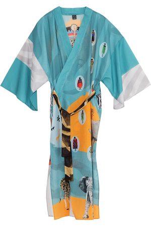 Women Kimonos - Women's Artisanal Cotton Root Kimono Matla