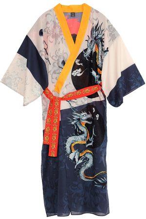 Women's Artisanal Cotton Chun Kimono Matla