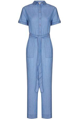 Women's Blue Nancy Jumpsuit - Tencel Denim Small NOOKI DESIGN
