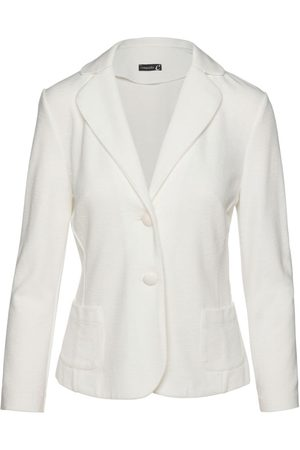 Women Long sleeves - Women's Artisanal Natural Linen Fitted Long Sleeve Jacket XL Conquista