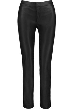 Vegan Black Leather Tundra Pants - Men Large SENTIENT