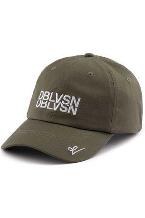 Men Caps - Men's Green Cotton Double Visión - Dblvsn Diffusion Caps 57cm DOUBLE VISIÓN