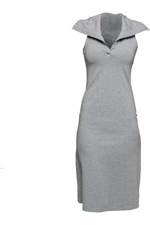 Women's Artisanal Grey Cotton Non653 Hoodie Sport Dress Medium NON+
