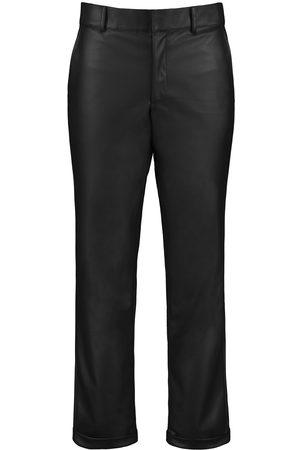 Vegan Black Leather Tundra Pants - Men XL SENTIENT
