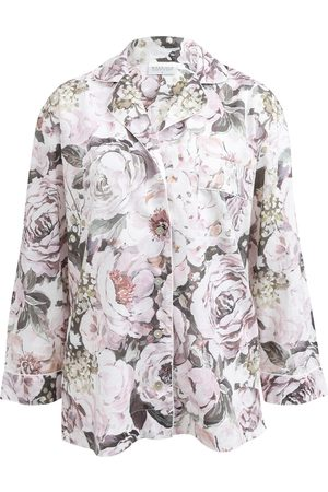 Women Pajamas - Women's Low-Impact Cotton Emily Organic Pyjama Shirt Large Wallace Cotton