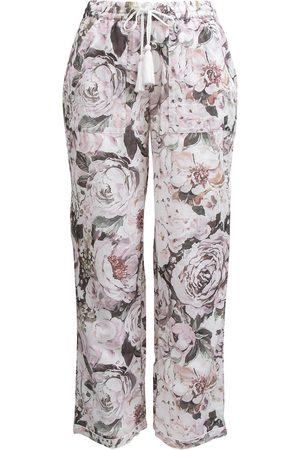 Women Pajamas - Women's Low-Impact Cotton Emily Organic Pyjama Bottoms Large Wallace Cotton